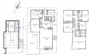 Nakameguro Imamura House Floor Plan