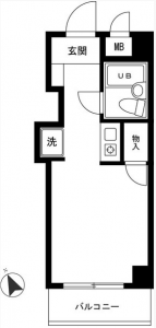 新高島平(Shintakashimadaira)ID3701 Floor Plan